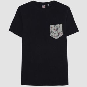 Junk Food Men's Mickey Mouse Vintage Pocket Tee